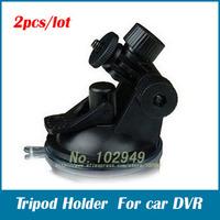 Car DVR Mini Suction Mount Tripod Holder for Car screen Window 2pcs/lot free shipping