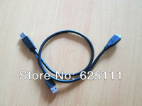 Free shipping USB 3.0 A Y Cable to Micro Usb3.0 B Male + Usb2.0 Type A Power Supply for HDD