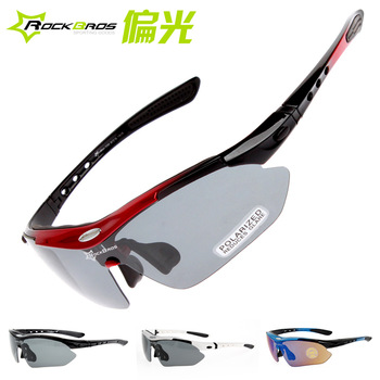 RockBros Polarized Myopia Cycling Sun Glasses Outdoor Sports Bicycle Glasses Bike ...