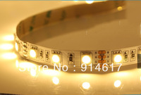 NonWaterproof 12V DC 5m 300LED SMD 5050 Flexible Warm white Pure white LED Strip Light