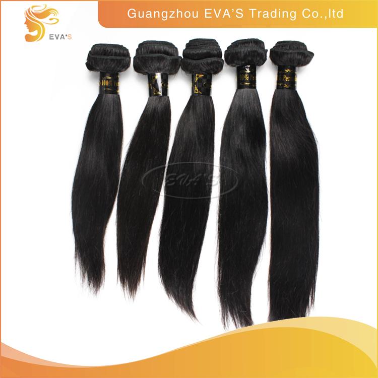 Home 6a grade peruvian virgin silky straight hair weave 3 bundles - Virgin Peruvian Hair Weave3 Pcslot Straight Peruvian Hair