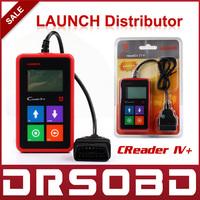 2014 New Release 100% Original Auto Code Reader Launch Creader IV+ car universal code scanner CReader IV Plus OBDII CReader 4