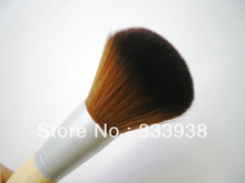 Powder Blusher Brush Bronzer Dome Brush Synthetic Hair Makeup Brush ECO Bamboo Handle Single Brush Beauty