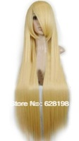 "40"" Straight Costume Play Party Wig (Blonde)"