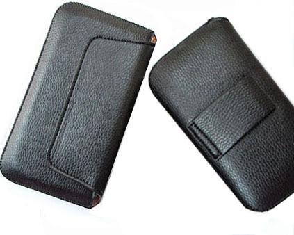 HK Frete Grátis cinto sacos de telefone bolsa de couro casos cintura para Jiayu g4 casos de telefone s1 g4c G4T G4S acessórios do telefone celular de células(China (Mainland))
