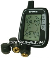 Free Shipping Tyredog Wireless Tire Pressure Monitor System Kit TD1000 AX