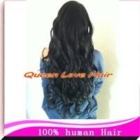 Queen Love hair 100% brazilian virgin human hair U part wig 12-26 inch130-150 density body wave instock free shipping !