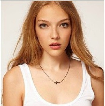 Sunshine jewelry store fashion european trend design gold color cross necklaces & pendants X376 ( $10 free shipping )