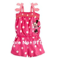 Free Shipping Baby Girls Overalls,Girls Suspender Trousers,Girls Jumpsuit,Romper.