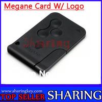 Shipping free (10pcs/Lot ) Renault 3 Button Megane  Laguna Smart Card  Excellent Quality