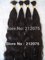 "12""-28""inches 3pieces/lot Virgin brazilian Curly wave human hair  extension * bulk  hair *"