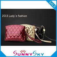 Free Shipping women handbag Fashion PU zipper Cosmetic storage bag Makeup bag Wholesale boxes and bags