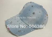 Freeshipping fashion denim baseball caps,flat cap,women jeans baseball cap,lady JEAN summer sports hat sunshine hat,snapback hat