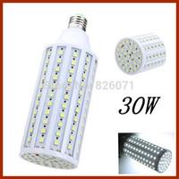5pcs Generous fashion LED energy-saving light bulbs 30W Corn Light 165 Pearl 5050 bulb led tube with E27 lamp holder&5050 SMD