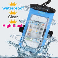 Outdoor swimming dive waterproof bag phone water proof cases phone4s 5 water sports waterproof jacket  sleeve free shipping