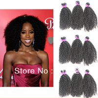Queen hair products Mongolian virgin kinky curly hair 4/5pcs lot free shipping,100% human hair extensions,5a unprocessed hair