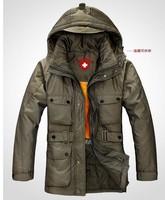TU071205 2013 free shipping men's down jacket,fur collar,winter jacket men,brand hotsale fashion down jackets,parka