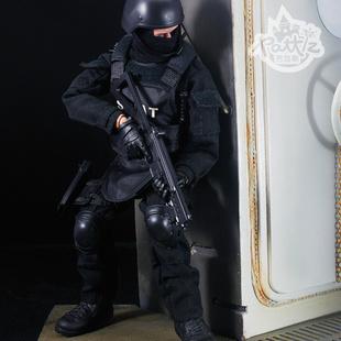 BJD DIY Kids Fashion 1:6 Police SWAT Models Dolls Toys For Boys and Girls Action ...