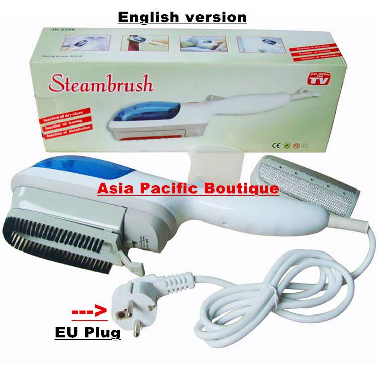 Golden section sj-2106 portable handheld garment steamers electriciron steam brush Europe plug English version(China (Mainland))