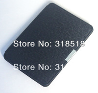 High Quality Magnet closure smart Folio PU Leather Case Cover for Amazon Kindle Paperwhite  Wifi /3G 1:1 Version 50 pcs/lot