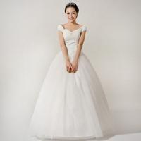 2013 tube top spring princess wedding dress mermaid dress muslim dress