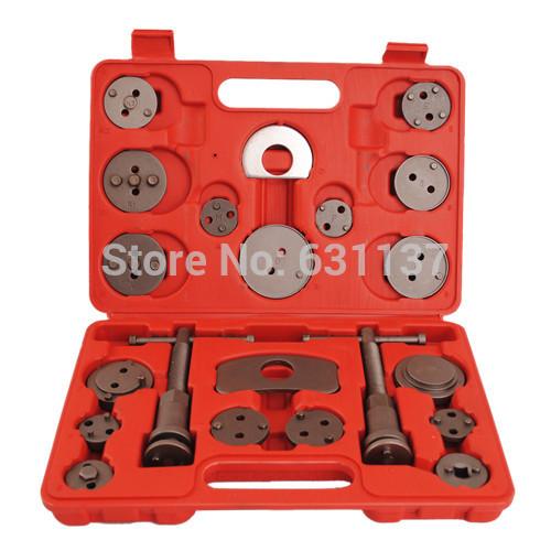 21Pc Universal Disc Brake Caliper Piston Pad Car Rewind Wind Back Auto Repair Tool Kit(China (Mainland))