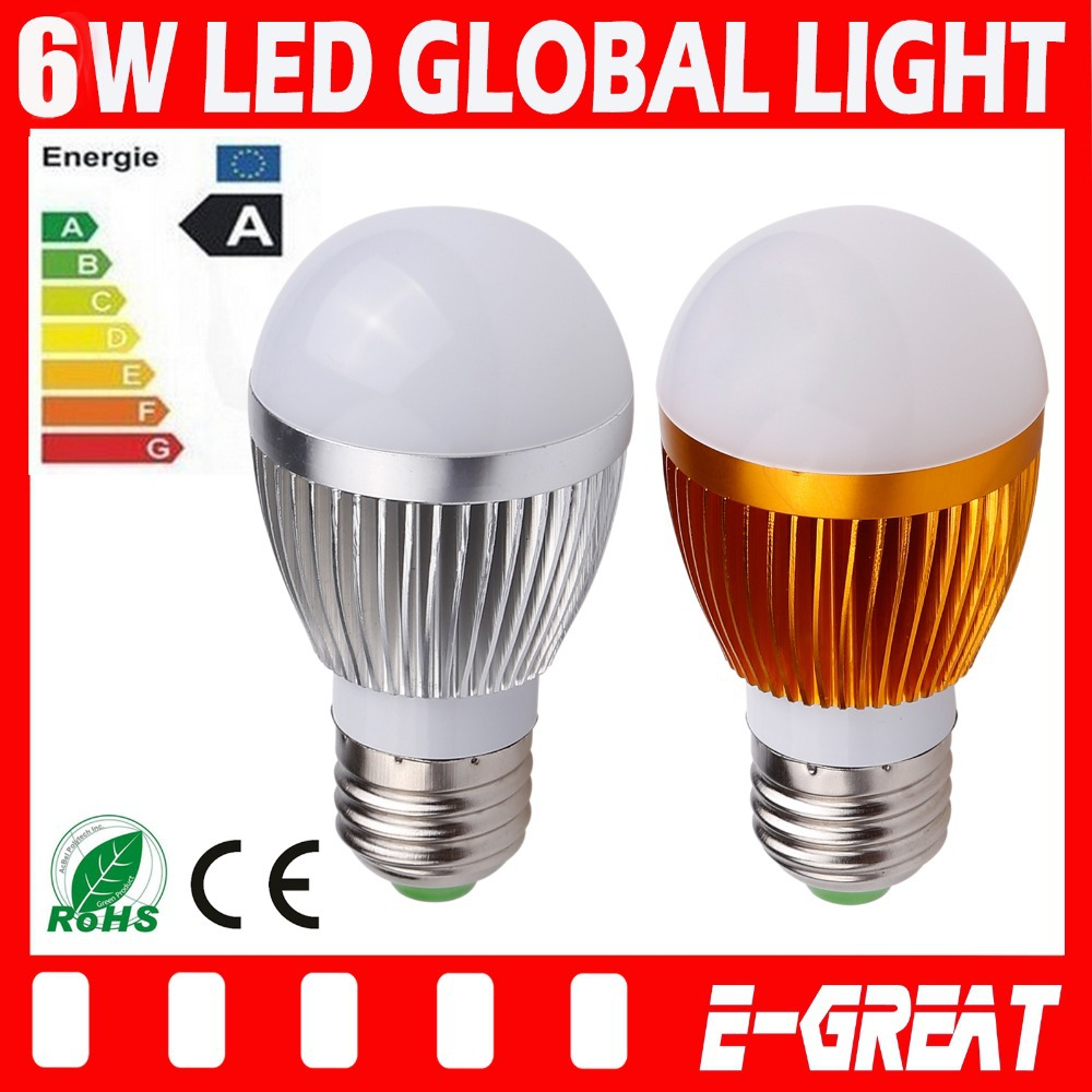 Ultra Bright Cree E27 Led 3w/9W/15W Bulb Led Lamp Led Light Led Spotlight AC85-265V CE/RoHS High Power Energy Saving(China (Mainland))