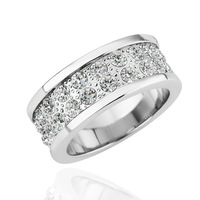 Promotions!Hot sale18K gold plated Austrian Crystal,High quality women wedding rings,wholesale R165