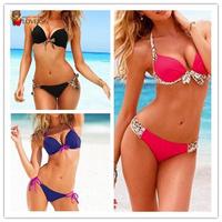 1 Set Bra&Panty the most  Fashion Sexy women vs bikini swimwear swimsuit beachwear vc free shipping