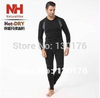 New Promotion Fleece 2014 Clothing Set Naturehike Men Sport Thermal Underwear Four Sides Elastic Hotdry Supernova Sale Snowboard