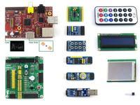 Raspberry Pi (CN) Model B 512MB+10 Accessory Modules+LCD+DVK511+SPI+8IO+UART+case H+heat sinks Rapberry-pi Development Board