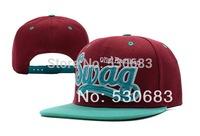Swag Snapback hats hot sale Unisex outdoor travel sun hat baseball cap 5 styles hip hop caps! Free shipping!!