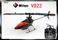 WL toys 2.4G flybarless 3D v922 v933 v944 955v rc helicopter 6ch
