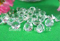8mm Clear Acrylic Diamond  for Wedding Table Crystal Confetti Decor
