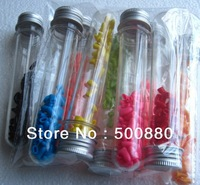 tube packing for pet shop Cat nail cap nail caps with glue