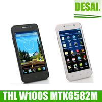 New hot sale THL w100/W100S Smartphone MTK6589 Quad Core 1.2GHz 4.5 Inch HD Screen Android 4.2 Bluetooth 8.0MP Camera