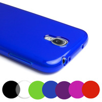 Grip Gel Clear TPU Case Cover For Samsung Galaxy S4 IV I9500