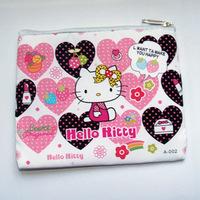 Hot!!! 10pcs Hello kitty Purse Coin bag Wallet Handbag phone bag free shipping 1011