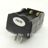 Wholesale !!! 3pcs Dual Battery Charger  for 18650 Rechargeable Li-Ion Battery 3.6V 3.7V