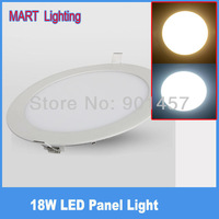 high quality 1750lm 18W Ultra-thin led ceiling panel light lamp  cree embedded aisle office  lighting