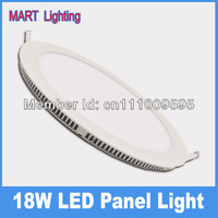 New design 18W  ultra-thin led Ceiling Panel light 1750lm Cree spot living,dining study room lights