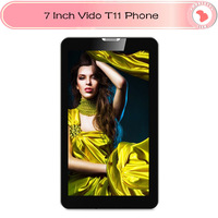 "3G WCDMA android phone call tablet pc 7"" vido T11 MTK8377 Dual Core 512MB RAM 4GB ROM dual camera bluetooth GPS tablet"
