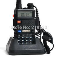 radio transmitter UV-5R,136-174MHz &400-520MHz dual band fm radio, free earphone 2014 baofeng new
