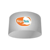 Free shipping-ceiling sign, Round Ceiling Sign, H106.68*D304.8cm, item no TE-28C-A