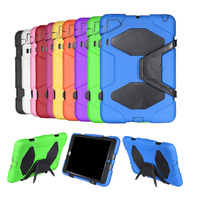 Impact Rugged MILITARY Extreme-duty  WATERPROOF SHOCKPROOF DEFENDER case with Belt STAND for NEW APPLE iPad 2 3 4 3rd,4th