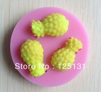1PCS pineapple silicone mold soap,fondant candle molds,sugar craft tools,chocolate moulds ,mould,silicone molds for cakes