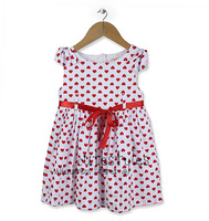 new 2013 Design baby dresses clothing girl fashion polka dots children summer dress one piece skirt suit for girls clothes wear