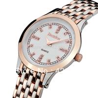 Fashion Women Quartz Watch Switzerland Brand +rhinestone +sapphire Ultra-thin Waterproof 3atm