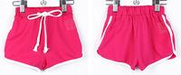 10pcs/ lot Pure color NEW Summer Fashion Children's Sports Short / Unisex surfer's shorts /Yoga Shorts Free Shipping