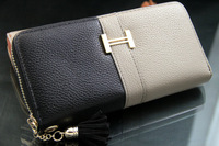 2013 New  fashion  leather women long wallet ladies girl purse handbag  free shipping WBG0518